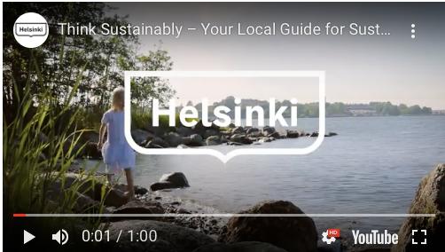 think sustainably Helsinki