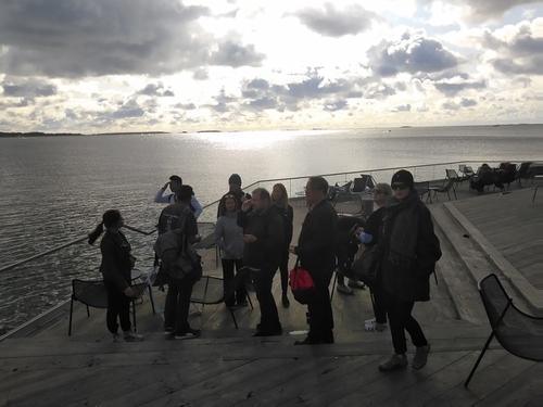 Helsinki media visit