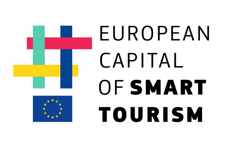 European Capital of Smart Tourism 2022 - official logo_vertical